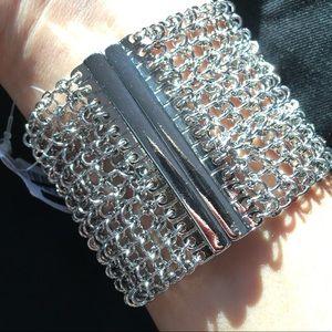 Magnetic Chain Cuff Bracelet