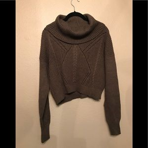 Express crop sweater