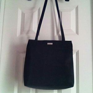 Nice black satin bag by Villager Liz Claiborn