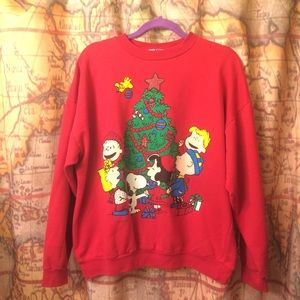 Peanuts Sweaters Ugly Christmas Sweater Charlie Brown Xl Poshmark