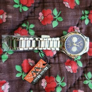 Shiny Sterling silver watch