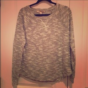 Forever 21 gray knit over sized sweater