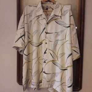 Tommy Bahama Silk Button Down Shirt XXL