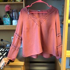 Charlotte Russe Medium Top , rose pink