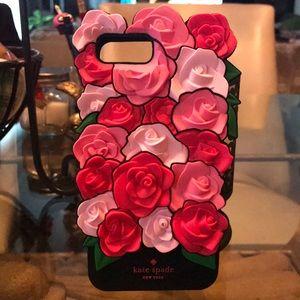 7 Plus Roses Silicon iPhone Case