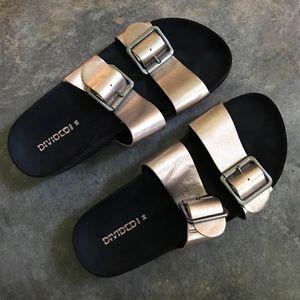 H&M Rose Gold Sandals