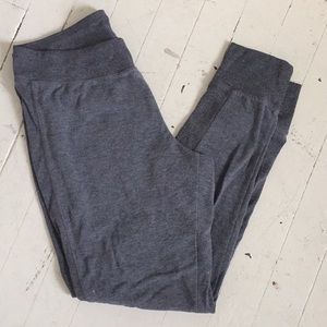 Thin sweatpants, ankle length