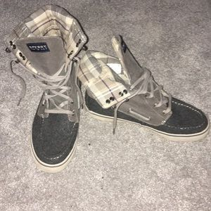 Sperry ankle shoes