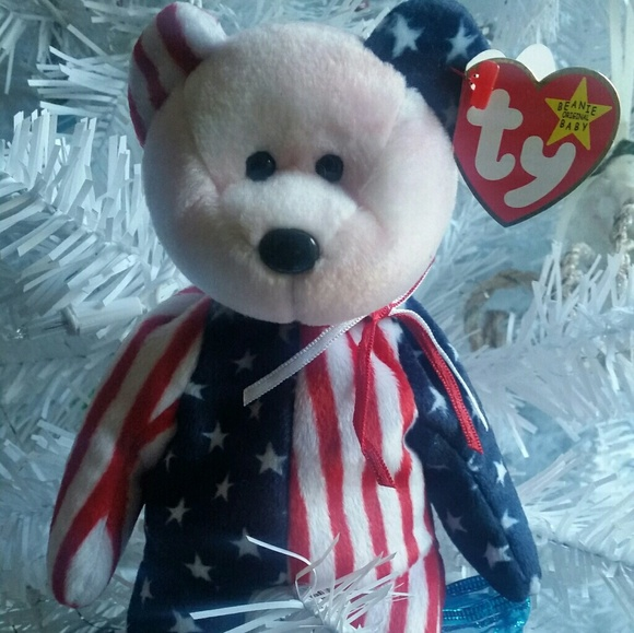 8487aa7c1da TY BEANIE BABY SPANGLE RARE -ERROR