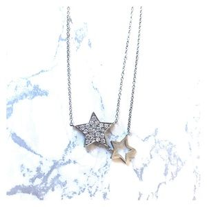 NWOT Silver Star Necklace⭐️