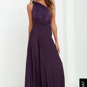 Lulu's convertible maxi dress