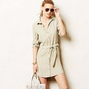 Anthropologie Shirt-Dress