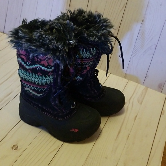 60% off The North Face Other - The North Face girls fair isle snow ...