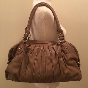 Nine West Faux Leather Nude Bag