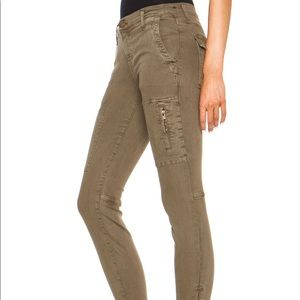 Current Elliot cargo jeans