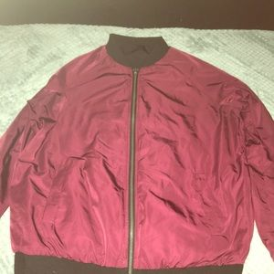Reversible jacket😊 Maroon/blck used once