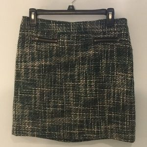 LOFT tweed skirt size 4