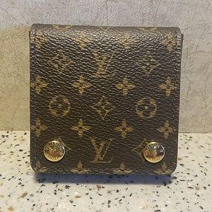 Authentic Louis Vuitton Jewelry Wallet Purse Pouch