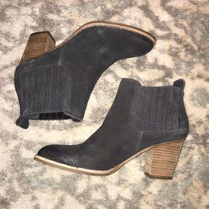 Dolce Vita Grey Suede Bootie- never worn!