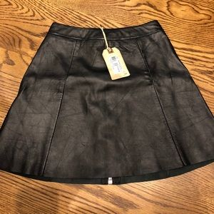 Bran new with tags leather skirt