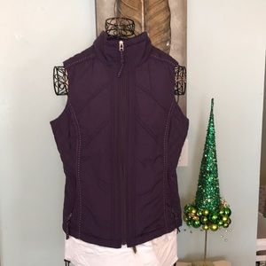 ColdWater Creek purple vest