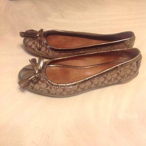 Womans Coach shoes.