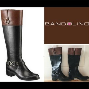 Bandolino - NIB-Two-Tone Vegan Riding Boots