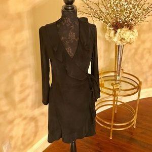 NWT Tiana B. Black Long Sleeve Dress