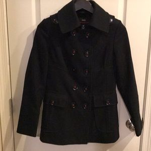 Woman's Miss Sixty size S peacoat