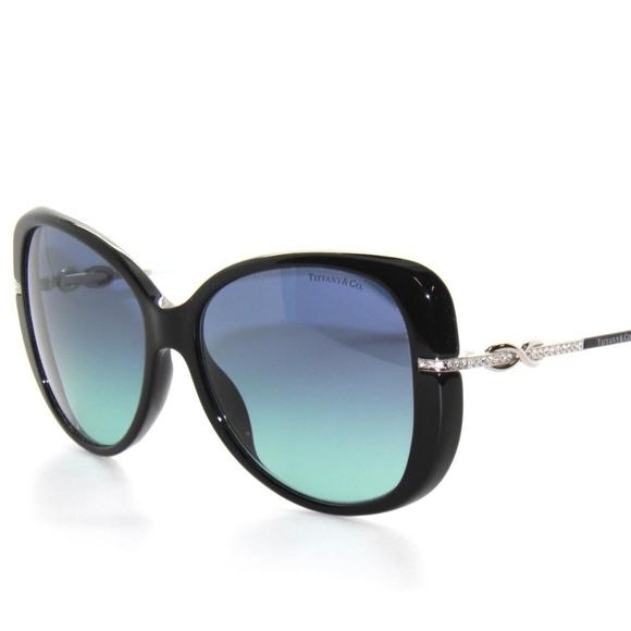 b6ea7bd822b2 Tiffany   Co. Sunglasses 4126B Black blue NEW!