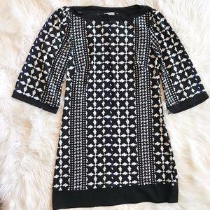 Laundry by Design Geometric Pattern Shift Dress