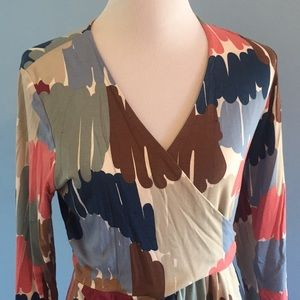 Boden Watercolor Dress