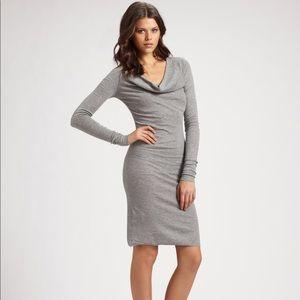 BCBG Cowl Neck Dress