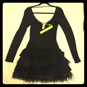 Catherine Malandrino Black Party Dress New!!!
