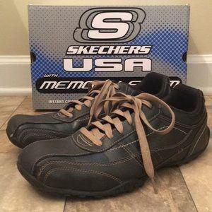 Men's Sketchers Memory Foam Dressy Sport Shoes