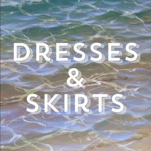 Dresses & Skirts Below!