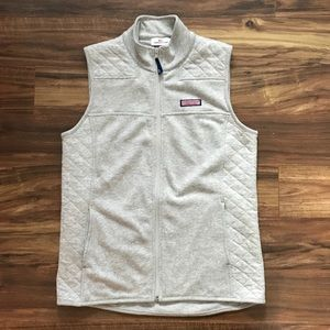 Vineyard Vines Quilted Panel Shep Shirt Vest