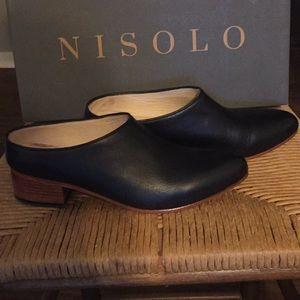 Nisolo | Sofia Noir Mules
