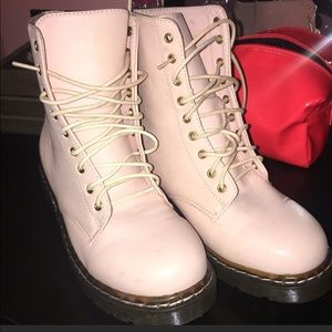 PASTEL PINK BOOTS