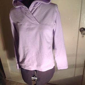 Womans patagonia fleece hoodie.