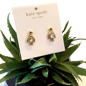 "NEW Kate Spade ""Fancy Penguin"" Earrings"