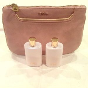 👛 Chloe LOVE Mini Lotion and Pouch Discontinued👛