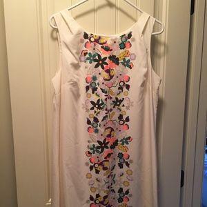 Cream Silky Dress