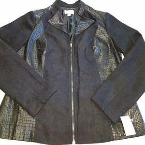 Nwt Studio Works faux suede blazer size 8