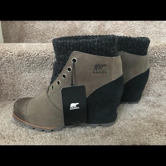 Sorel Shoes Joanie Sweater Boots Sz 11 Nwt Poshmark
