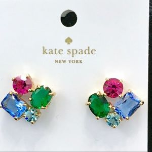 Kate Spade Multicolor Cluster Stud Earrings