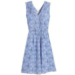 Rebecca Taylor Silk V-Neck Dress