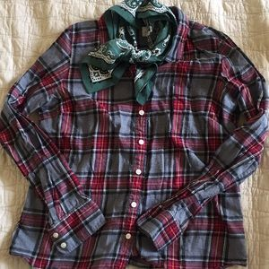 Autumnal JCrew Flannel!