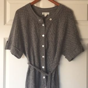 Anthropologie Stewart & Brown cashmere sweater