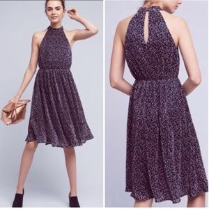 NWT Anthropologie Mullari Halter Dress Size 8